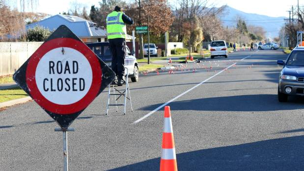 Emergency services are investigating how a pedestrian came to be hit by a car in Blenheim on Monday morning.