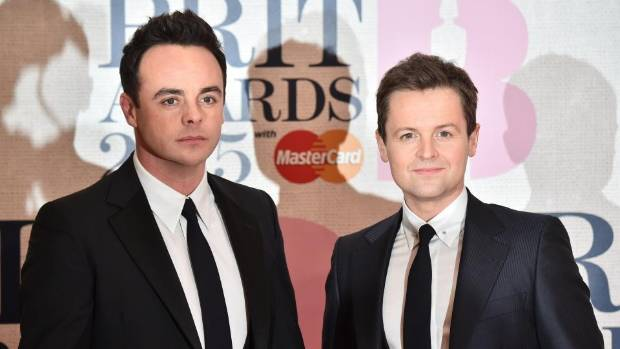 Ant and Dec are familiar faces to UK TV fans, having been presenters for the last 20 years.