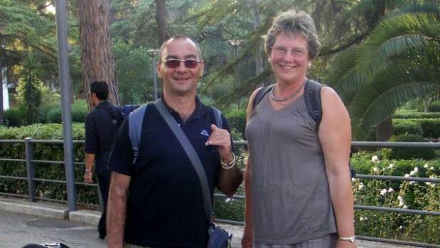 Petrella with Waikanae artist Dana Jackson in Italy, after she and friend Shirley Sutton had their campervan stolen ...