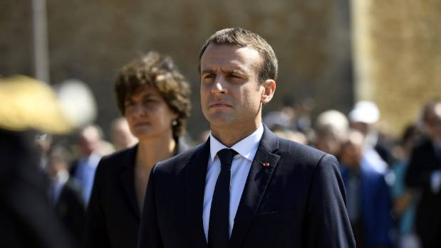 Emmanuel Macron is France's youngest president.
