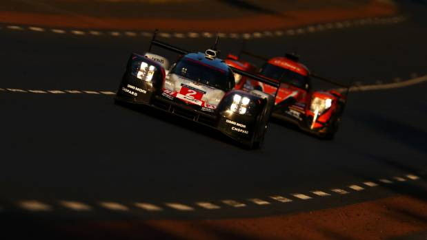 The Porsche LMP Team 919 of Earl Bamber, Timo Bernhard and Brendon Hartley staged a massive comeback to win the Le Mans ...