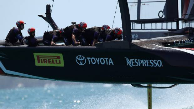 Peter Burling and the Team New Zealand crew keep their low profile working for them in the America's Cup match in Bermuda.