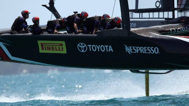 Emirates Team New Zealand introduced pedal power to the America's Cup.