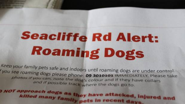Hillsborough residents are on high alert after a plague of dog attacks at night have left the suburb with at least five ...