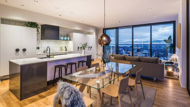 The judges praised the spacious interiors and high ceilings of The Dylan Apartments.