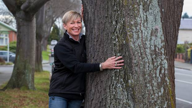 Vetlife Timaru practice manager Fiona Morrow was sad to learn the trees on Grasmere St were being cut down. Work on ...