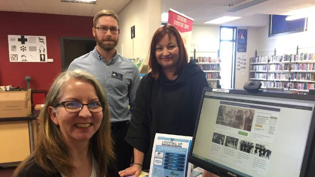SDC Winton library staff Raewyn Patton and Luc Howard and Southern Reap adult community education manager Janine Walker ...