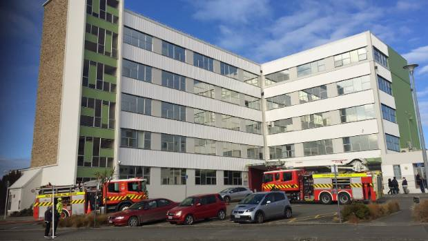 Fire crews were called to a fire in Timaru Hospital's Intensive Care Unit on Monday.