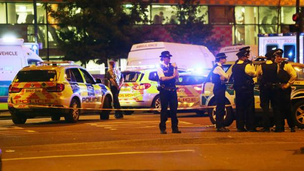 "Police were called to the scene about 12.20am, local time, on Monday, and said they were attending a ""major incident"", ..."