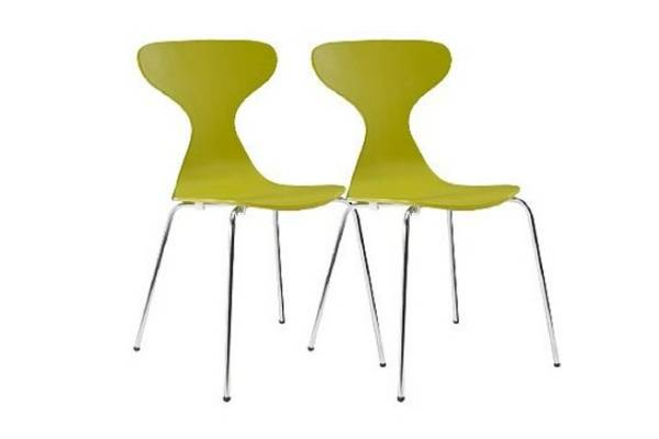 Jupiter set of two dining chairs, $79 from Freedom Furniture.