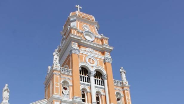 Granada's Iglesia (church) de Xalteva.