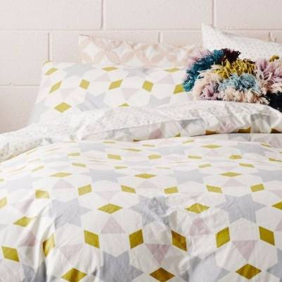 Grace Quilt Cover by Sage & Clare, $299 for queen size from Shut the Front Door.