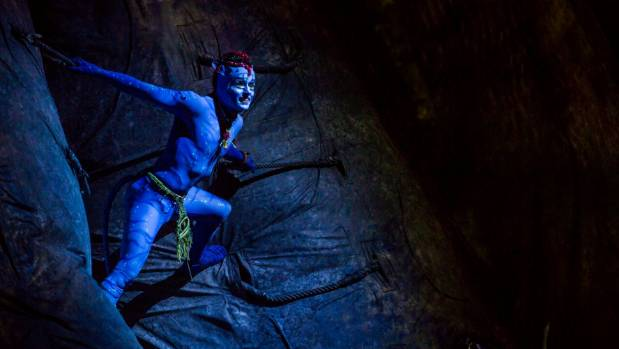 Cirque du Soleil performers had to learn the Na'vi language in preparation for the show.