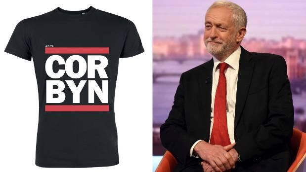 Would you wear that Jeremy Corbyn shirt?