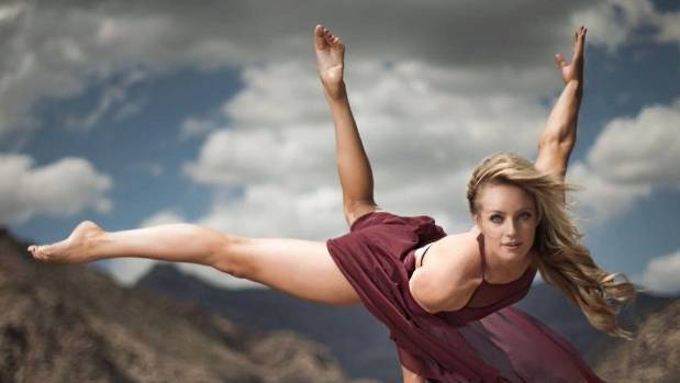 Australian acrobat Jessica Ward spends up to 12 weeks on the road with Cirque du Soleil.