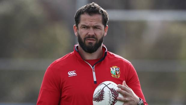 Andy Farrell, the Lions defence coach, is attempting to find ways to stop the Kiwi offloads.