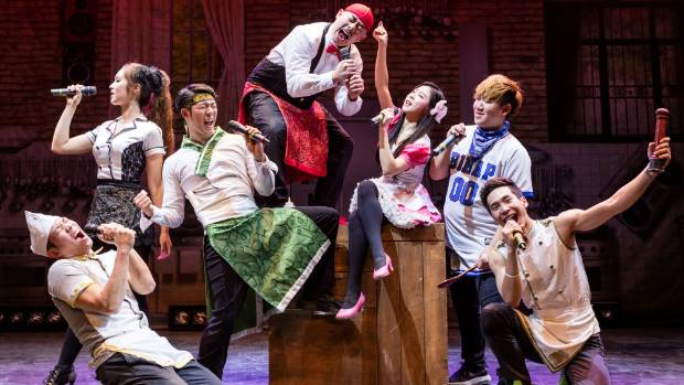 """Physical theatre, comedy and cabaret will be on display in """"Chef"""" at the Christchurch Arts Festival 2017."""