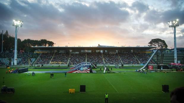 Yarrow Stadium is one of a few venues which can host international events in Taranaki