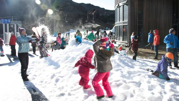 "Ruapehu Alpine Lifts chief executive Ross Copland said playing in the Mt Ruapehu snow for free was ""key to mountain fun."""