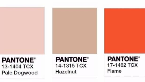 The neutrals of the year, according to Pantone.