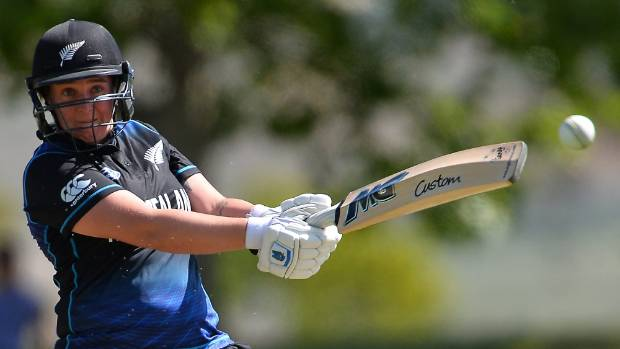 Rachel Priest scored a half century for the White Ferns in their World Cup warmup win over India in Derby.