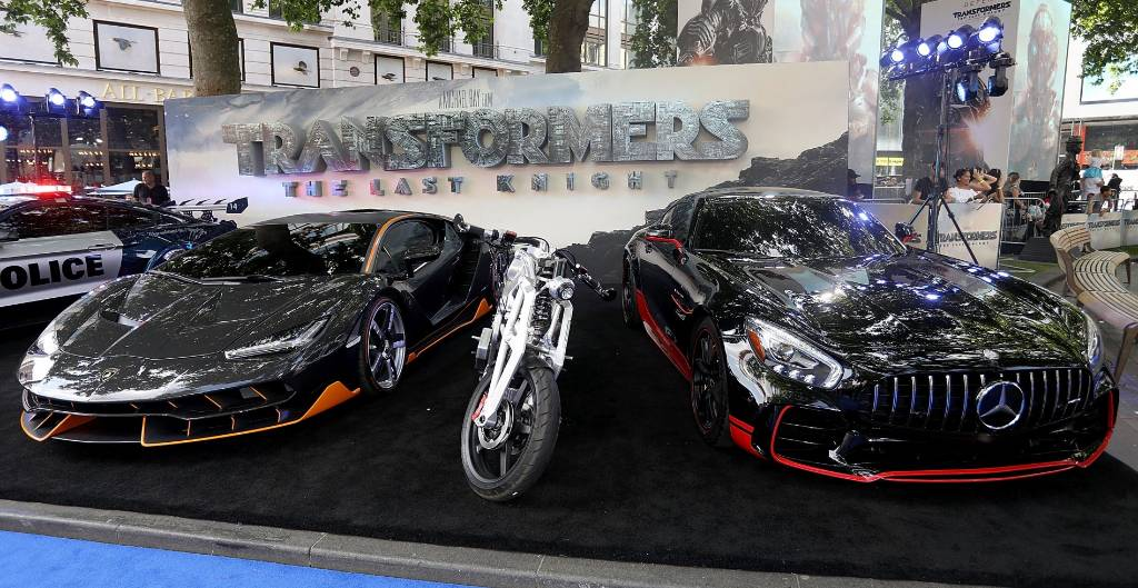 Lamborghini Centenario Shines At Premiere Of Transformers The Last