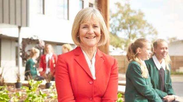 Gillian Simpson has been principal of St Margaret's College for a decade.