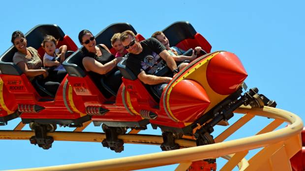 On the Gold Coast, break up beach days with trips to theme parks. Movie World, anybody?