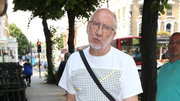 Pete Townshend of The Who contributed to the recording.