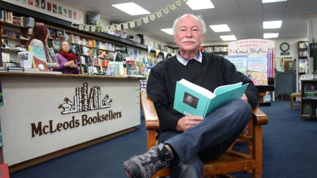 McLeods Booksellers' manager Michael Byrne.