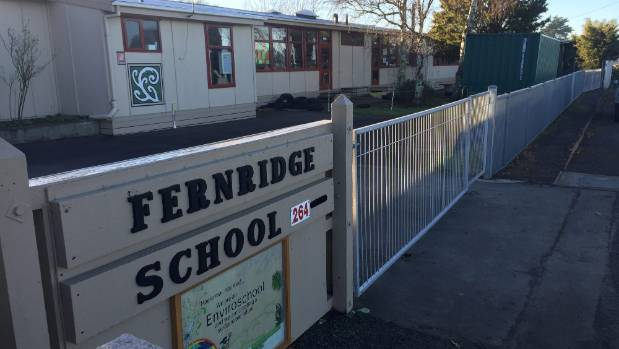 Fernridge School had to close enrolments in February 2017 because of lack of space. .