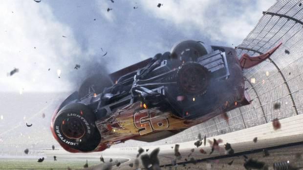 For the first time in his career, in Cars 3, Lightning McQueen is not the fastest thing on four wheels.