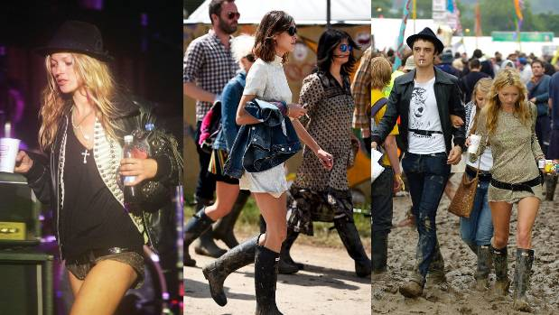 Kate Moss and Alexa Chung have defined festival style until now, but change might be on the way.