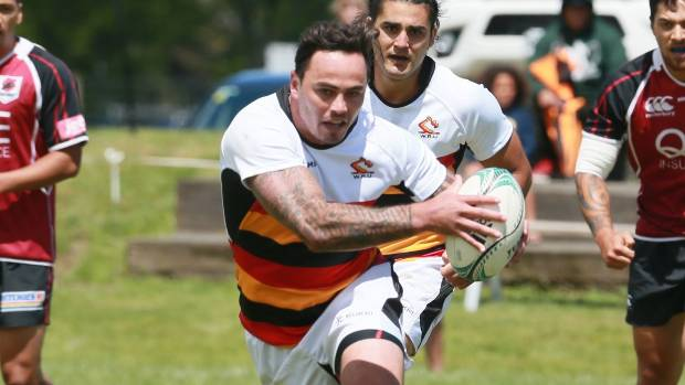 Zac Guildford playing for Waikato sevens.