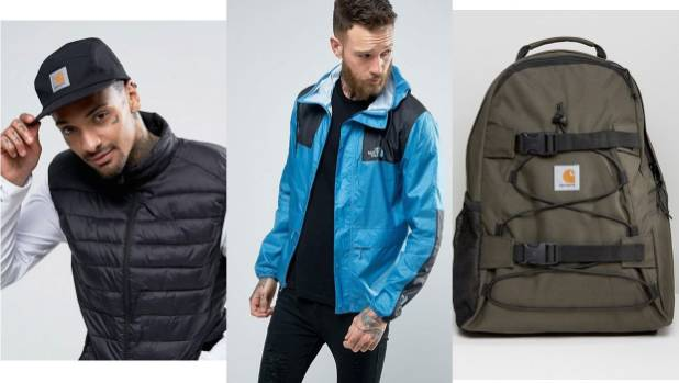 Carhartt and The North Face are key brands if you're keen on recreating the look yourself.