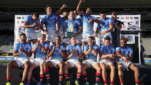 The Sydney Roosters may have to wait a while before defending their Auckland Nines title won in February.