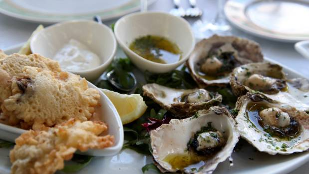 The oysters – known as Ostrea edulis, or European flat oysters – are served three ways; fresh, fried and grilled.
