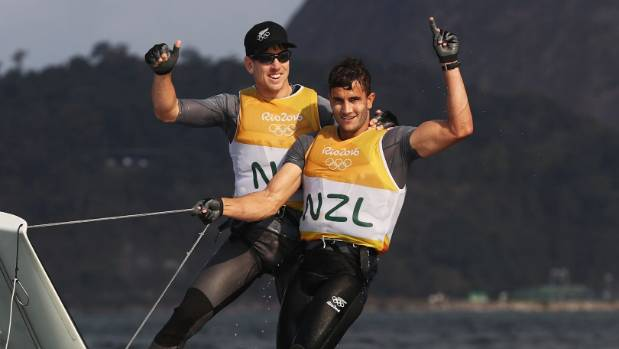 Peter Burling and Blair Tuke had no trouble dealing with the weight of expectation at the Rio Olympics.