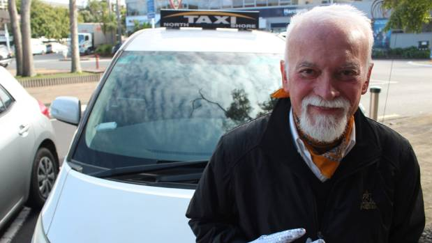 Bob Ivanovic's karaoke taxi, like his flashing-white gloves, are famous as far down as Gisborne.
