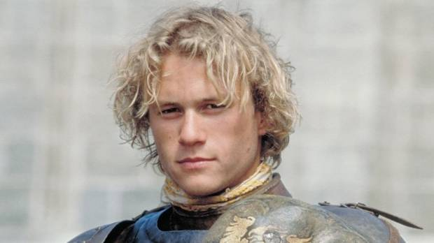 I Am Heath Ledger reveals how the Aussie star was initially concerned by the more anachronistic elements of A Knight's Tale.