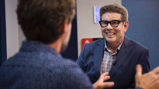 John Campbell's presents Radio New Zealand current events show, Checkpoint.