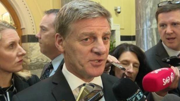 It appears that Prime Minister Bill English (pictured) and former Prime Minister John Key also knew about the incident ...