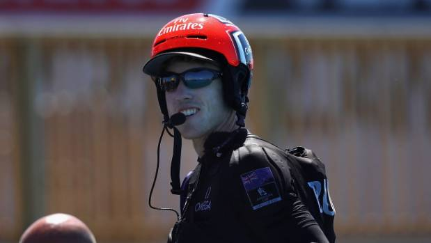Sailing-New Zealand pedal their way to brink of America's Cup glory