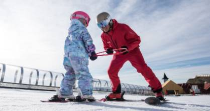 Ski lessons at Cardrona Alpine Resort