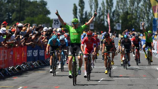 New Zealand cyclist Tom Scully from Cannondale-Drapac won the final stage of La Route du Sud tour in France.