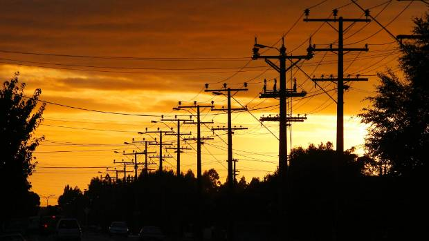 The West Coast's electrical grid consists mostly of overhead power lines.