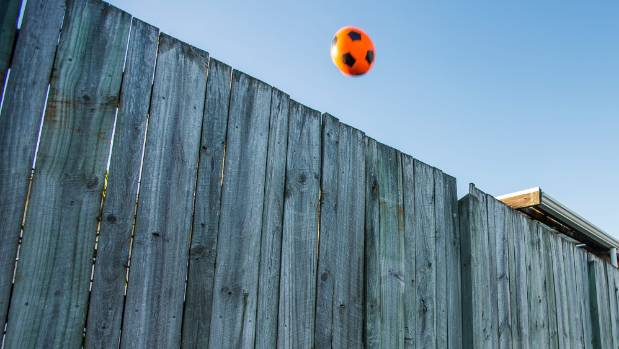 The council wants to know the correct procedure for getting a ball when it goes over a fence if it grants consent for ...