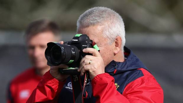 Warren Gatland might have binoculars as well as a camera if he fronts up at Pukekohe races on Wednesday to see his horse run.