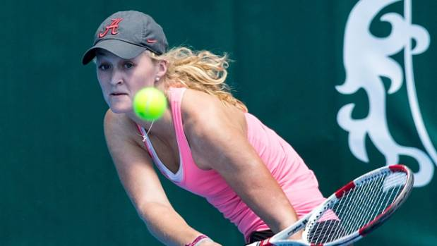 Erin Routliffe played at the New Zealand championships and ASB Classic over the Christmas period.