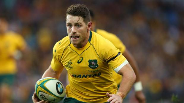 Bernard Foley, in action during the loss to Scotland, says the Wallabies can overtake the All Blacks.